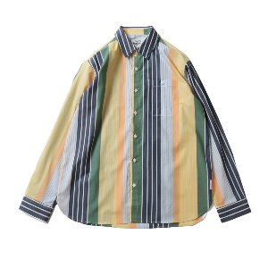 19SS Osborne Various Multi Stripe shirts Yellow Green