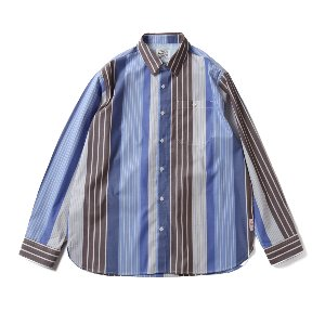 19SS Osborne Various Multi Stripe shirts Blue Gray