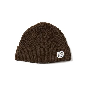 Dearborn Knit Beanie Dark Brown