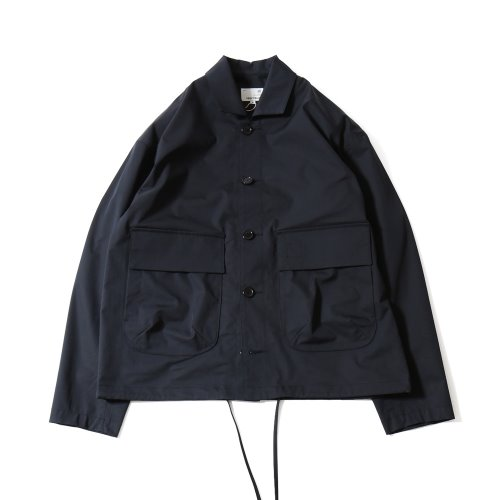 20SS Capital Light Weight Drop Shoulder functional Jacket Navy