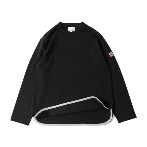 20SS Emery Long Sleeve Pocket Seasonal T-shirts Black