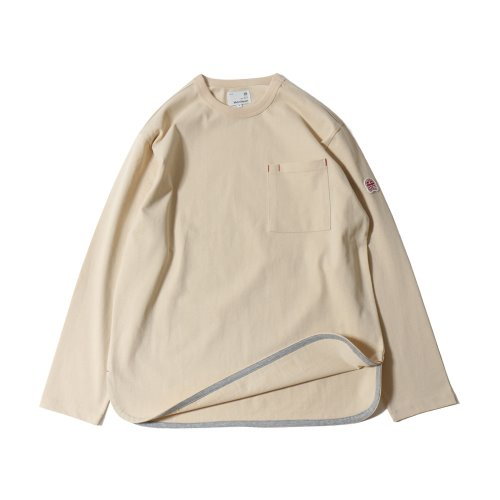20SS Emery Long Sleeve Pocket Seasonal T-shirts Oatmeal