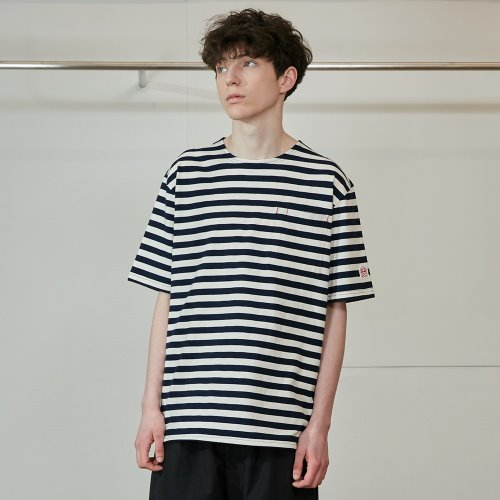 20SS Union Short Sleeve Pocket T-shirts SU Seasonal Navy