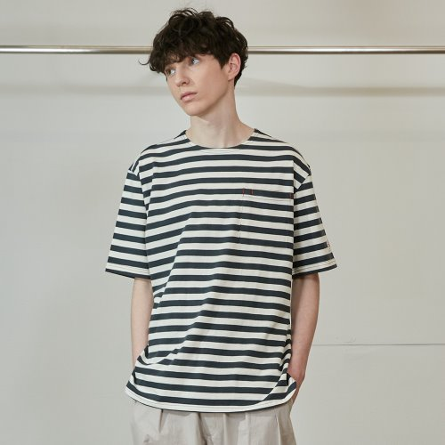20SS Union Short Sleeve Pocket T-shirts SU Seasonal Gray