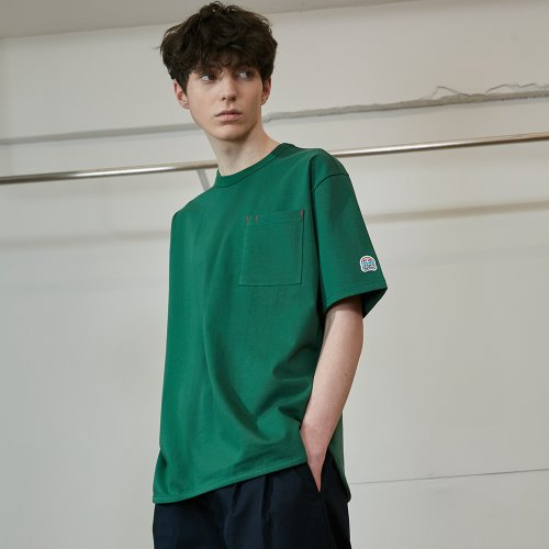 3차 재입고_20SS Emery Short Sleeve Pocket Seasonal T-shirts Green