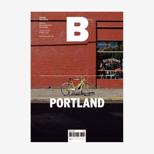 MAGAZINE B _ PORTLAND _ ISSUE NO. 58