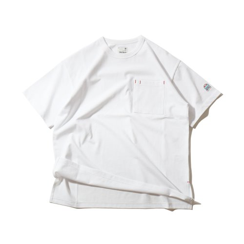 3차 재입고_20SS Lawrence Overfit Short Sleeve Pocket T-shirts White