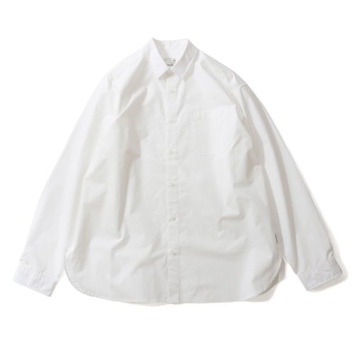 20FW Jane Extra Typewriter Loosefit Shirts White