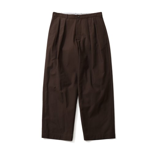 20FW Corinth Wide Loose Pants Chestnut Brown