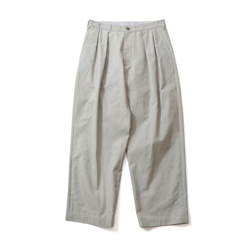 20FW Corinth Wide Loose Pants Gray Beige