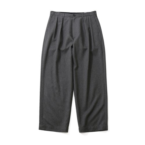 20FW Corinth Napping Wide Loose Pants Melange Gray