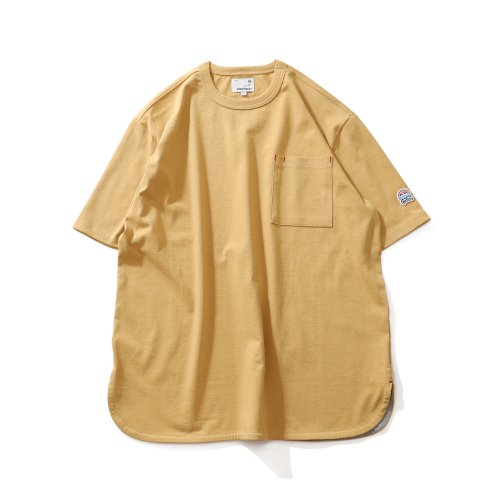 21SS Emery Short Sleeve Pocket Seasonal T-shirts Mustard