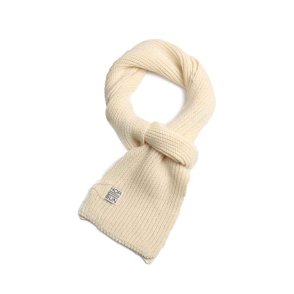 Skiff Knit Muffler Cream